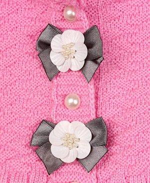 Комплект для девочки Цвет: розовый+серый