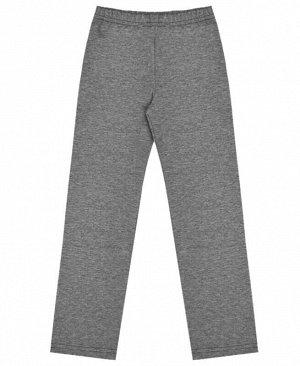 Серые спортивные брюки для девочки Цвет: т.серый