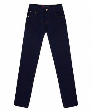 Брюки синие джинсовые для девочки Цвет: т.синий