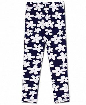 Синие леггинсы для девочки Цвет: синий