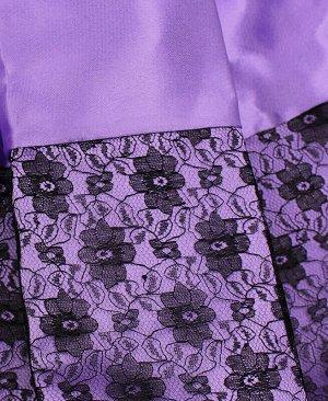 Нарядная сиреневая юбка для девочки Цвет: сиреневый