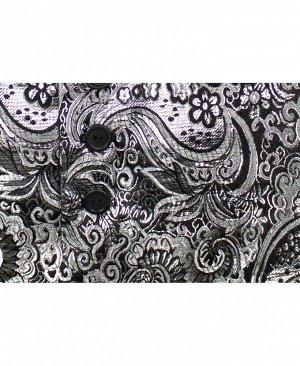 Костюм нарядный для мальчика Цвет: черный+серебро