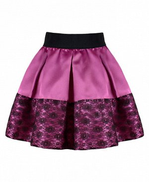 Пурпурная нарядная юбка для девочки Цвет: светло-пурпурный