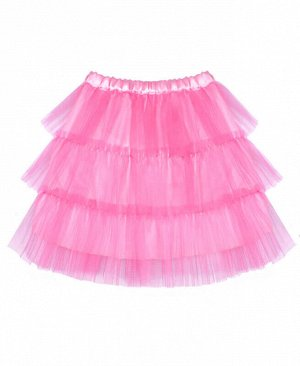Подъюбник (юбка) для девочки, розовая р.92-122 Цвет: розовый