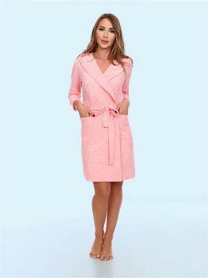 МИЛАНА халат женский розовый