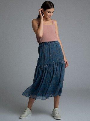 Шифоновая юбка S885/clement