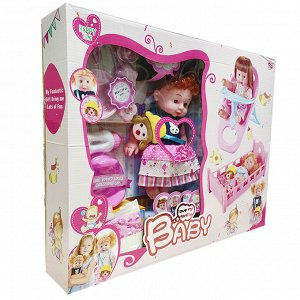 Набор с куклой  3+
