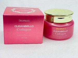 Увлажняющий крем с коллагеном Deoproce Cleanbello Collagen Essential Moisture Cream, Ю.Корея, 100мл