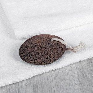 Пемза для педикюра, 9,5 ? 7 см, цвет коричневый