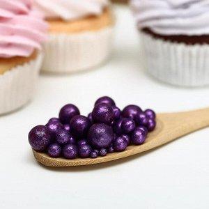 Драже зерновое в глазури «Блеск» фиолетовый, 50 г