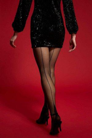 Носки Размеры модели:  рост: 1,78 грудь: 83 талия: 60 бедра: 89 Надет размер: STD Elastan 10%,Poliamid 90%