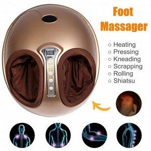 Массажер для ног роликовый с ИК подогревом FOOT MASSAGE (воздушно-компрессионный)