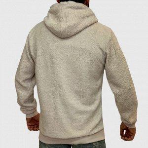 Бежевая мужская толстовка Stray – отличный выбор для основного гардероба современного парня №215