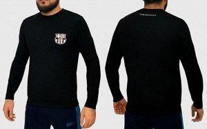 Мужская кофта реглан FC Barcelona – символика одного из самых титулованных ФК мира №139