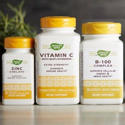 Хиты органики! Витамины, натуральные товары из США! — Витамины Nature's Way — Витамины и минералы