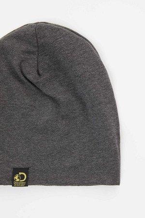 шапка Размеры модели: рост: 1,88 грудь: 95 талия: 70 Надет размер: STD Elastan 5%, Хлопок 95%