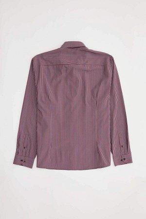 рубашка Хлопок 53%, Полиэстер 47%