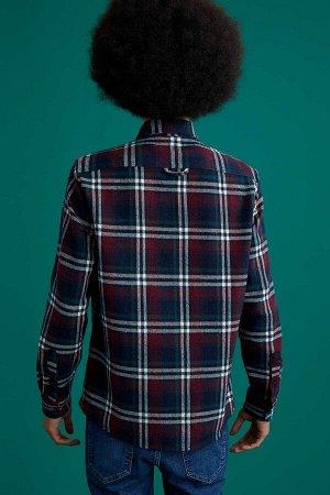 рубашка Размеры модели: рост: 1,87 грудь: 95 талия: 73 бедра: 93 Надет размер: XL Di?er Elyaf 5%, Полиэстер 15%, Акрил 80%