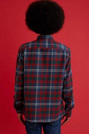 рубашка Размеры модели: рост: 1,87 грудь: 95 талия: 73 бедра: 93 Надет размер: L  Акрил 80%,Di?er Elyaf 5%, Полиэстер 15%