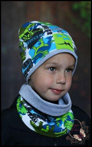 Комплект для мальчика хлопковый «Юрский период»