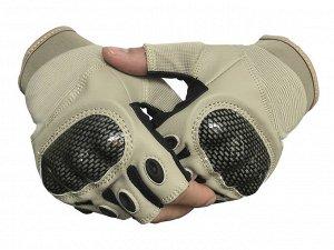 Перчатки Перчатки беспалые тактические  (серые) №5