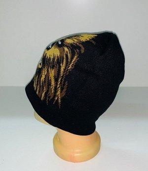 Шапка Черная шапка с Чубаккой  №1666