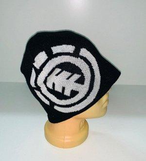 Шапка Крутая шапка с белым узором  №1662