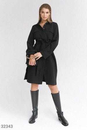 Базовое платье-рубашка