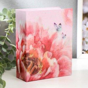 """Фотоальбом """"Бутон и бабочки""""на 100 фото 10х15 см, 12,5х5х16,5 см, ПП карм."""