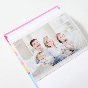 "Фотоальбом ""Детский"" на 100 фото 10х15 см, 12,5х5х16,5см.  ПП карм."