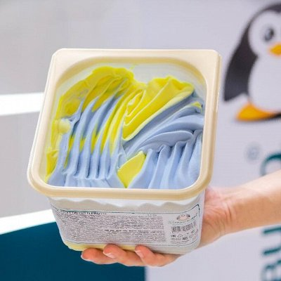 Шикарный выбор чизкейков🍰 — Большой семье большие порции: мини-ванны 1,3кг — Мороженое
