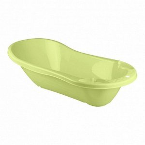 Ванна детская с клапаном для слива воды салатовый