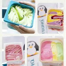 33 пингвина. Акция на Просто космос и Шв. ланч — Мороженое (мини-ванны 1,3 кг) — Мороженое