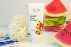 Йогуртовая пенка для умывания Арбузная Fruits Yogurt Foam Cleanser Watermelon