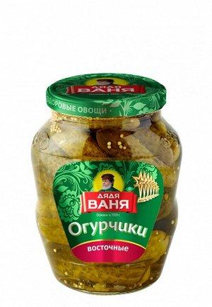 """""""Дядя Ваня"""" Огурчики Восточные марин. 680 гр. 1/8, шт"""