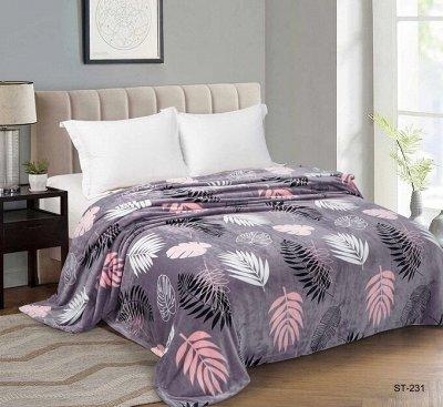 Шикарная спальня у вас дома. КПБ в наличии — Плед велсофт евро — Пледы