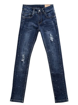 Брюки джинсовые для девочек 158