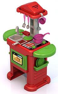 """Нордпласт """"Волшебная Хозяюшка"""": кухонный набор №5 (кухня (94 см)+ набор посудки)"""