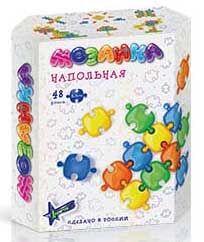 Нордпласт Напольная мозаика (48 фишек в коробке)