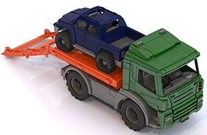 Нордпласт Спецтехника: Эвакуатор с машиной