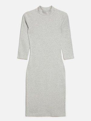 Платье жен. Daily серый