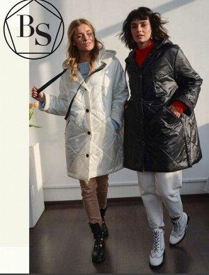 Куртка--пальто женская Черный