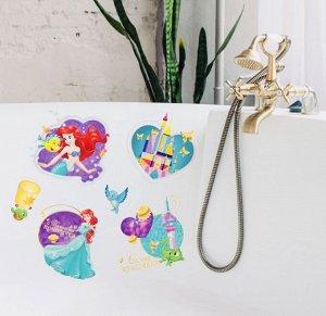 Наклейка для ванной комнаты Принцесса