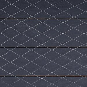 Сетка оцинкованная ЦПВС, мягкая, 1 ? 10 м, ячейка 25 ? 25 мм, d = 0,5 мм, металл