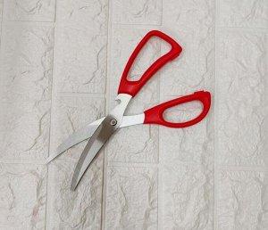 Ножницы Цвет в ассортименте. Длина лезвий 15 см. Ножницы сочетают в себе максимальную функциональность и эстетичный внешний вид. Модель классической формы отлично подходит для резки бумаги, картона и