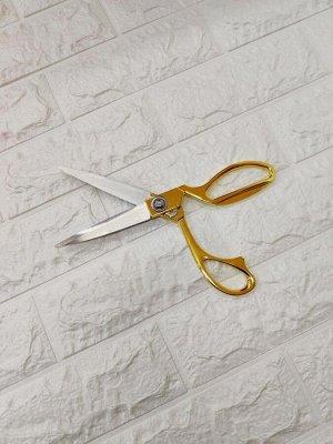 Ножницы Длина лезвий 10 см. Ножницы сочетают в себе максимальную функциональность и эстетичный внешний вид. Модель классической формы отлично подходит для резки бумаги, картона и прочих материалов.