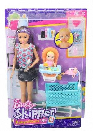 Игровой набор Mattel Barbie Няня Скиппер с аксессуарами19