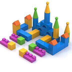 🔝Разнообразные пластиковые игрушки — Конструкторы — Конструкторы и пазлы