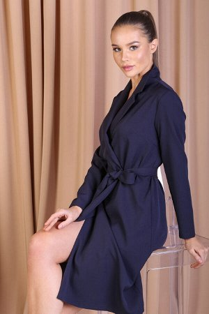 Платье 449/1, темно-синий