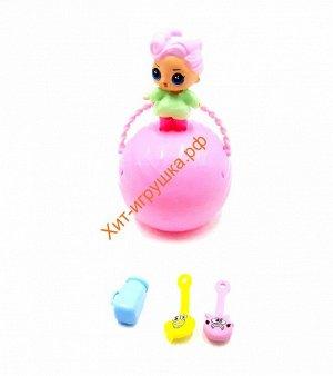 Скрепыши+кукла в шаре в ассортименте BB079, BB079